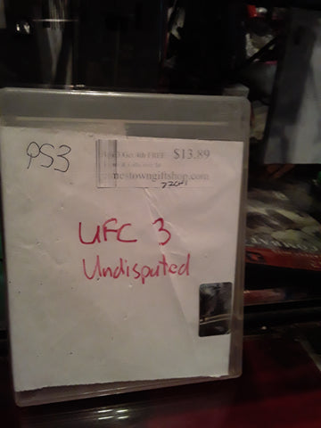 UFC Undisputed 3 PS3 Video Game