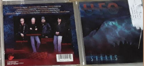 UFO Sharks Music CD Used