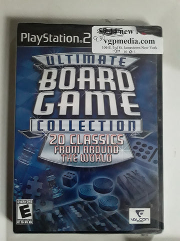 Ultimate Board Game Collection NEW PS2 Video Game