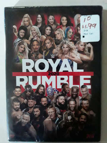 WWE Royal Rumble 2020 DVD BRAND NEW SEALED