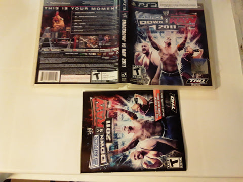WWE Smackdown vs. Raw 2011 Used PS3 Video Game