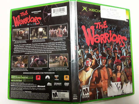 Warriors Used Original Xbox Video Game