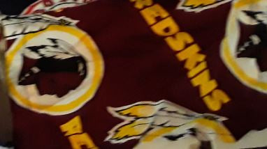 Washington Redskins NFL 5.5 Inch Handmade Cotton Face Mask Smaller Size