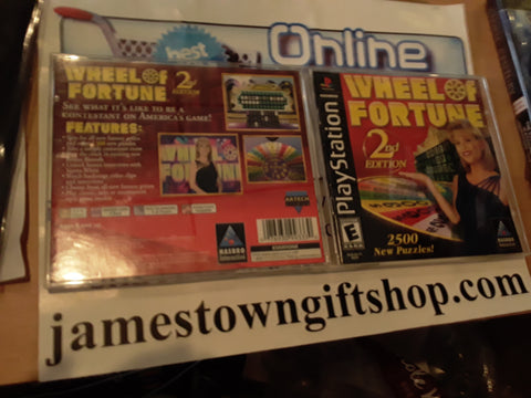 Wheel of Fortune 2nd Edition USED Playstation 1 Game