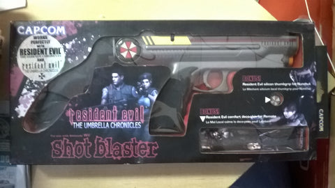 Resident Evil Umbrella Chonicles Blaster Gun USED with box for Wii