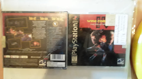 Wing Commander IV The Price of Freedom Used Playstation 1 Game