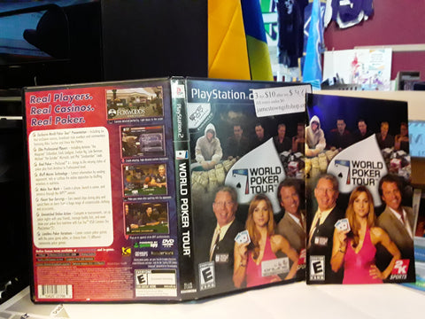 World Poker Tour USED PS2 Video Game
