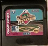 World Series MLB Baseball Used Sega Game Gear Video Game Cartridge