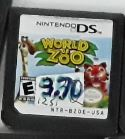 World of Zoo Used Nintendo DS Video Game Cartridge