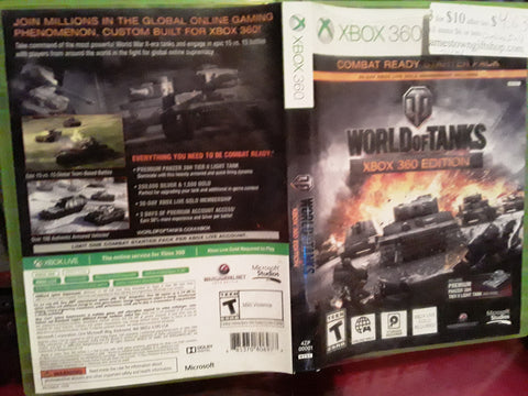 World of Tanks Xbox 360 Video Game