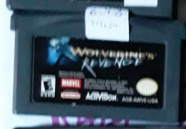 X-Men Wolverine's Revenge Used Nintendo Gameboy Advance Video Game