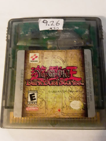 Yu-Gi-Oh Dark Duel Stories Used Gameboy Color Video Game Cartridge