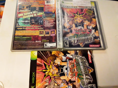 Yu-Gi-Oh! The Dawn of Destiny Used Original Xbox Video Game