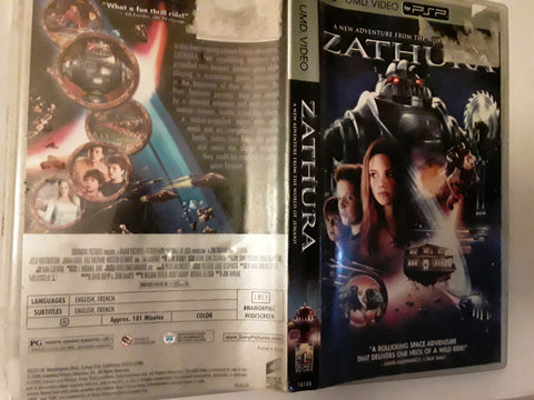 Zathura PSP Used UMD VIDEO MOVIE Kristen Stewart Tim Robbins