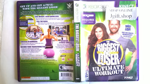 Biggest Loser Ultimate Workout KINECT USED for Xbox 360