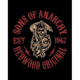 "Sons of Anarchy Faux Fur 79"" X 96"" Medium Weight Queen Blanket"