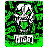 "Twiztid Faux Fur 79"" X 96"" Medium Weight Queen Blanket"