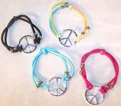 Peace Sign Rope Bracelet