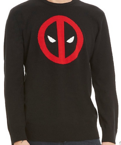 Deadpool Sweater Size XL