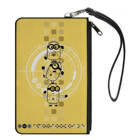 Despicable Me 8 x 5 inch Canvas Wallet