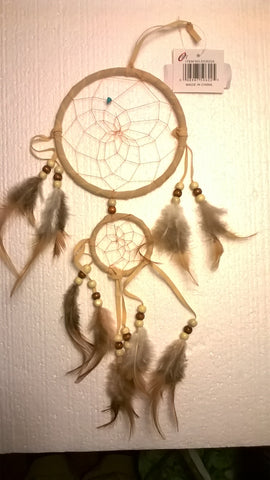 "16"" long Dream Catcher in assorted colors"