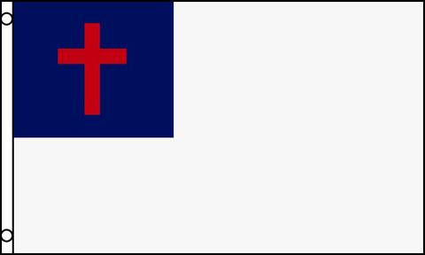 Christian Cross 3x5 Foot Flag