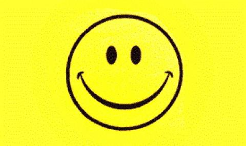 Smiley Face Yellow 3x5 Foot Flag