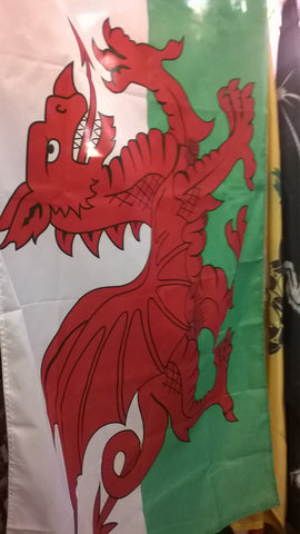 Wales Dragon 3x5 Foot Flag