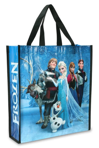 Disney Frozen Cast 14 x 15 inch Tote Bag