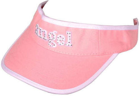 Angel Visor with Rhinestones