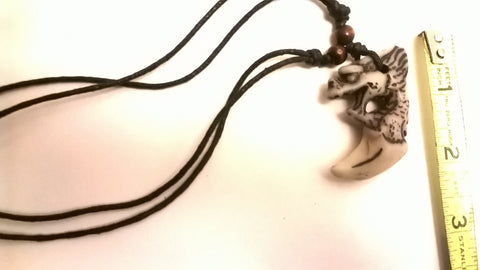 Dragon Rope Polyresin Necklace