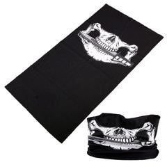 Pirate Skull Multi Function Mask / Head Wrap / Beanie