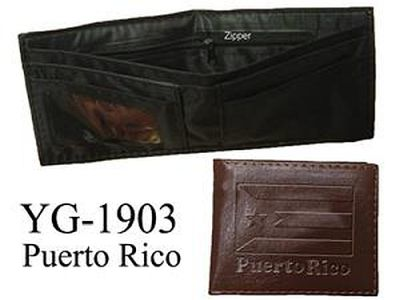 PUERTO RICO BI-FOLD WALET in two colors