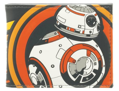 Star Wars BB-8 Bi-Fold 4 x 3.5 inch Wallet