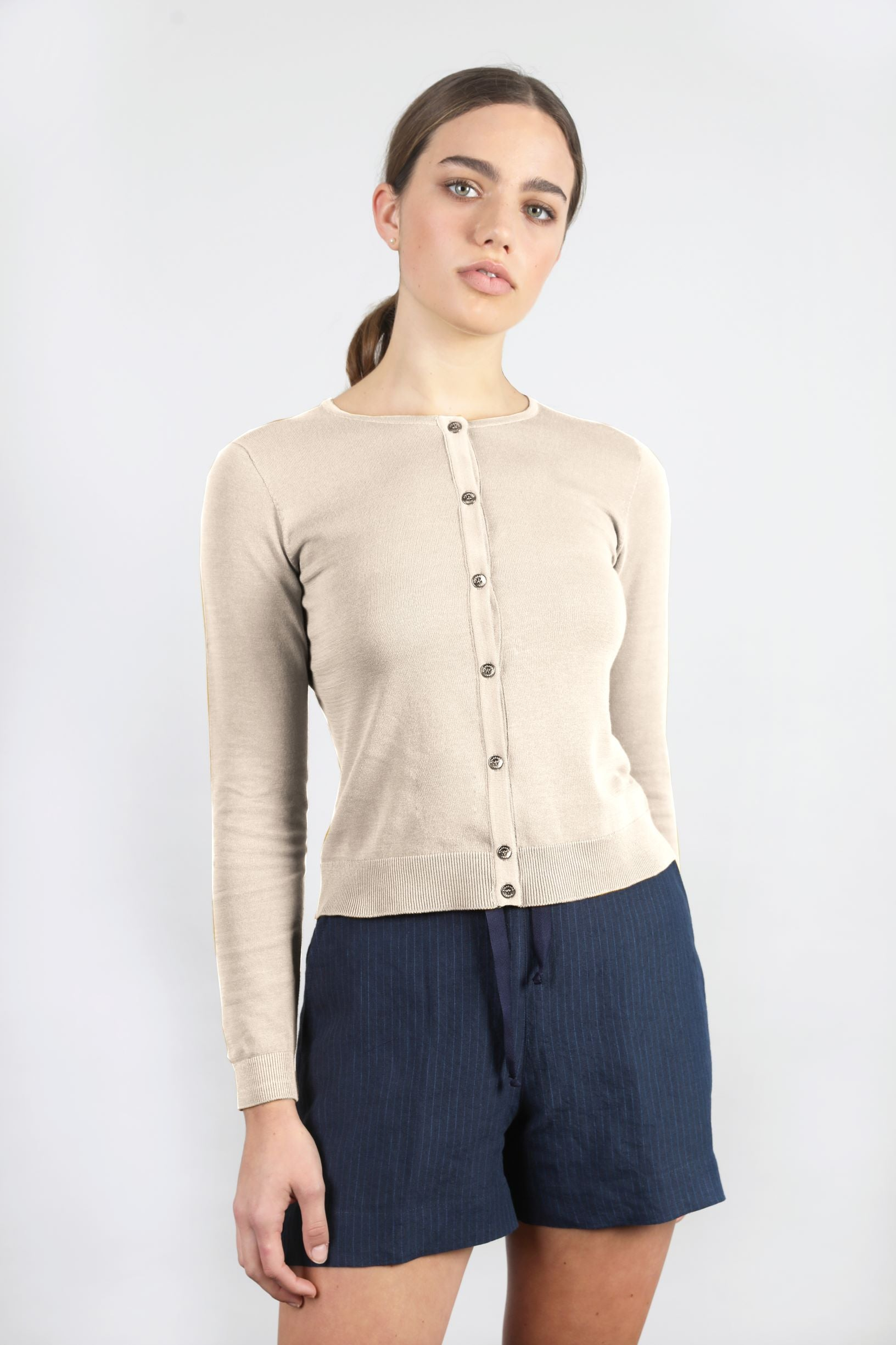 Cotton Crop Crew Cardi - Standard Issue