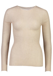 Cotton Tulle Crew Top - Standard Issue