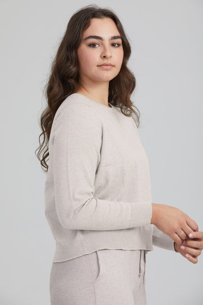Balance Crop Jumper - Standard Issue