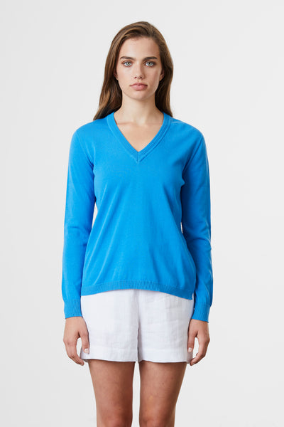 Ripple Trim V Sweater - Standard Issue