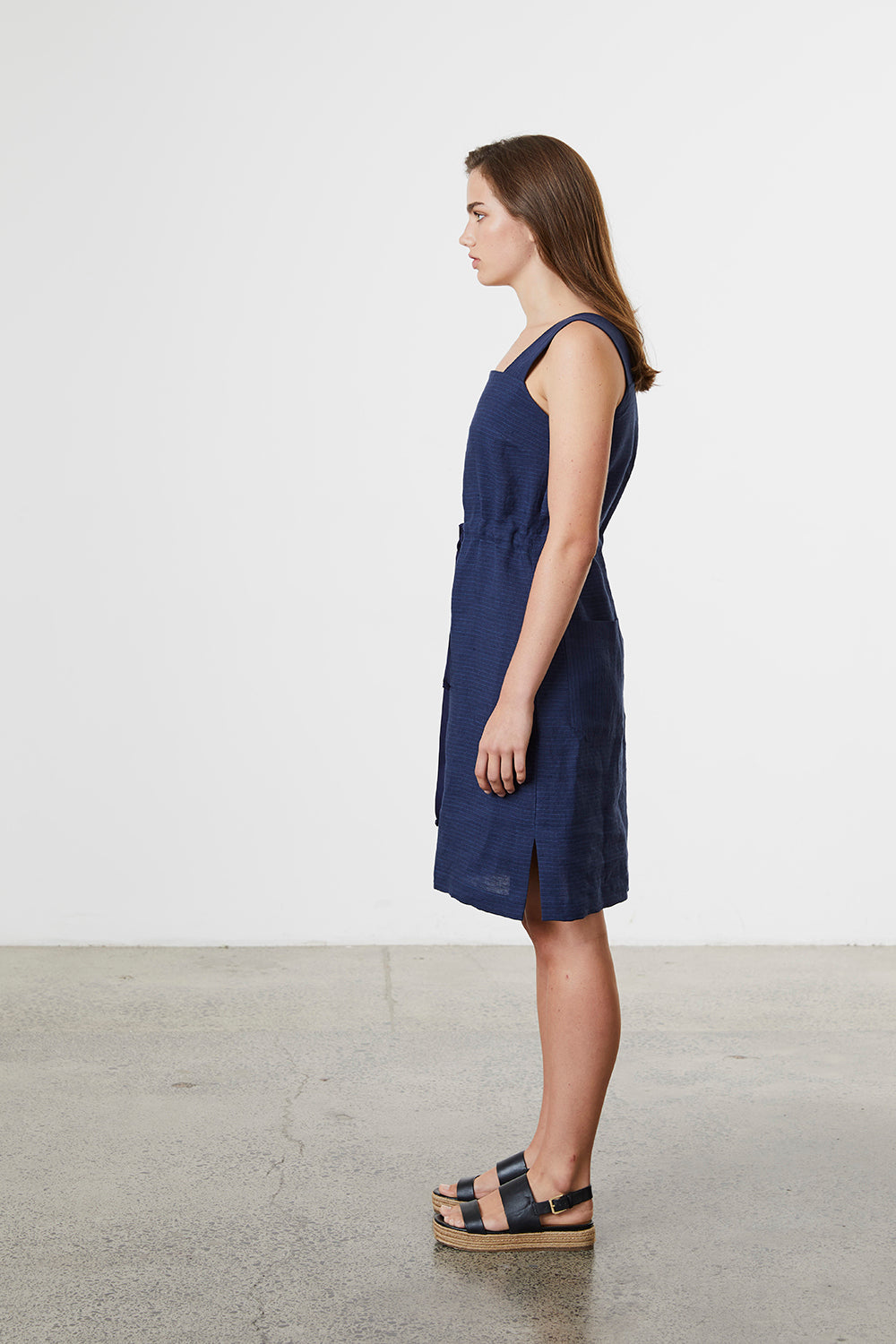 Linen Pinafore - Standard Issue