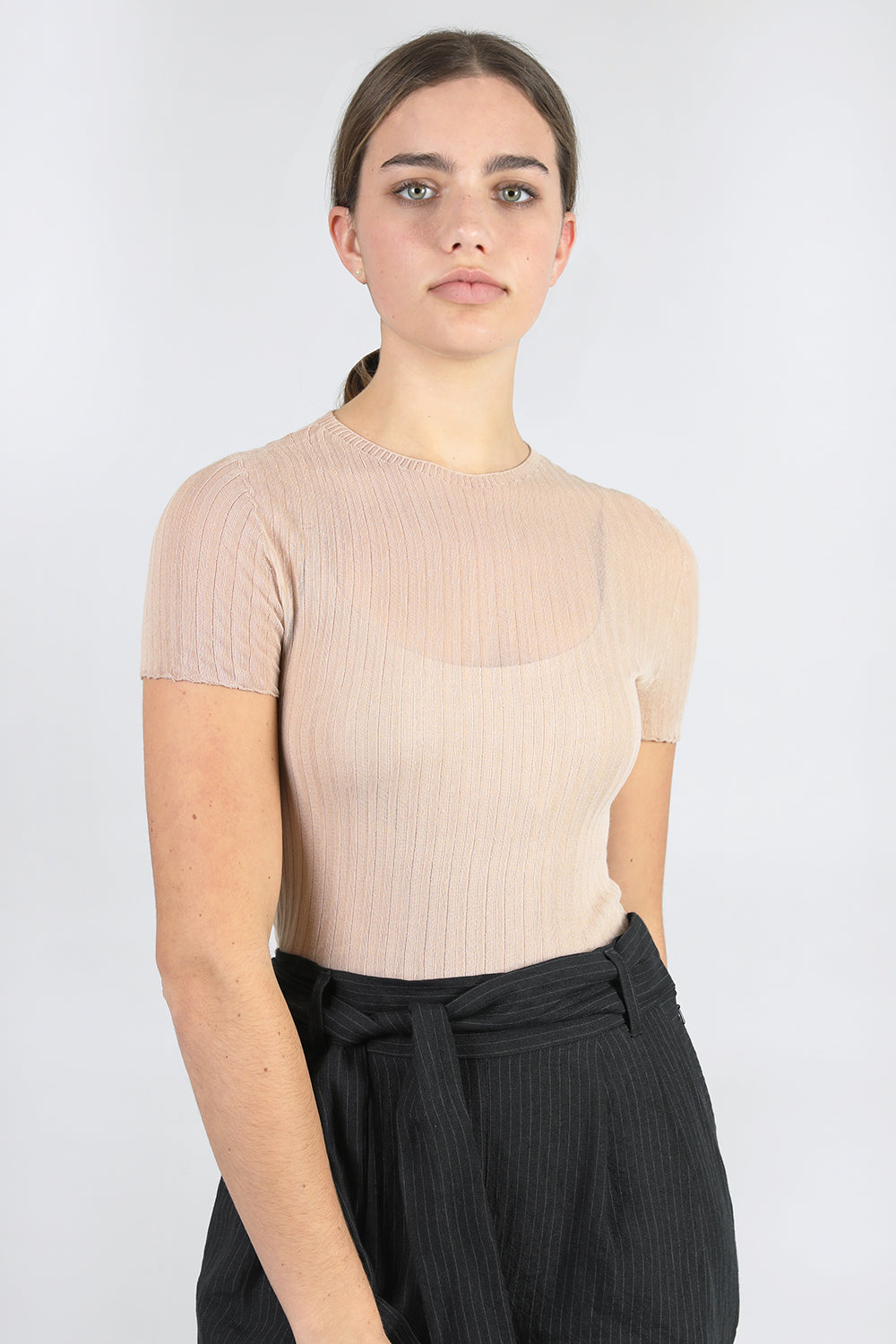 Cotton Tulle Crop Tee - Standard Issue