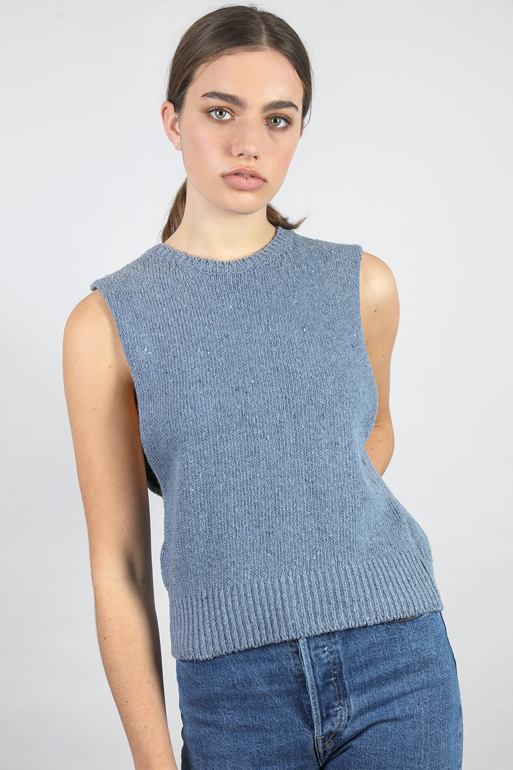 Recycled Denim Little Tank - Standard Issue