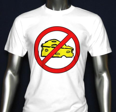 New No Cheese T-Shirts