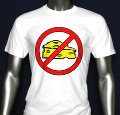 No Cheese Men's Short Sleeve T-Shirt (Ver. 1)