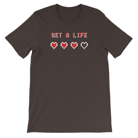 GET A LIFE<br> Men's Short Sleeve<br> (Ver. 1W)