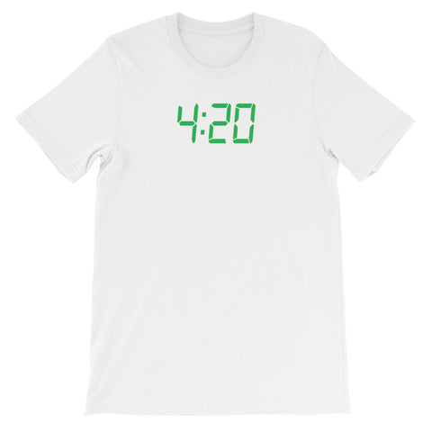 4:20 CLOCK<br> Women's Short Sleeve<br><br>