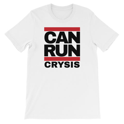 CAN RUN CRYSIS<br> Women's Short Sleeve<br> (Ver. 1B)