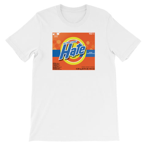 HATE DETERGENT<br> Women's Short Sleeve<br><br>