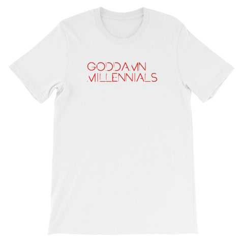 GODDAMN MILLENNIALS<br> Women's Short Sleeve<br> (Ver. 6)