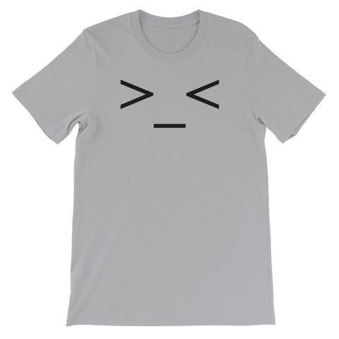 ASCII ART<br> TROUBLED<br> Men's Short Sleeve<br>