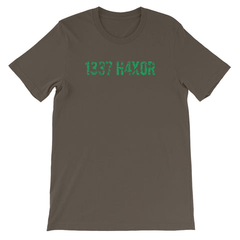 1337 H4X0R<br> Women's Short Sleeve<br> (Ver. 2G)